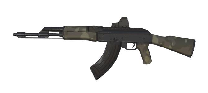 スマホアプリ knives out AK-47:砂漠の嵐