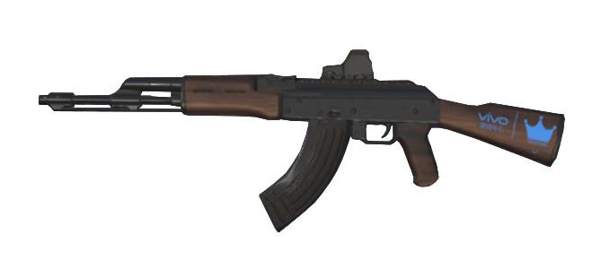スマホアプリ knives out AK-47:Exclusive