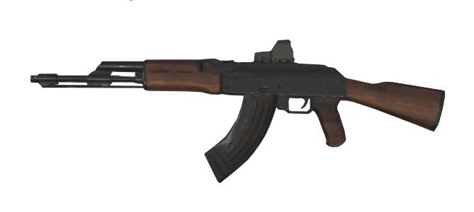 スマホアプリ knives out AK-47