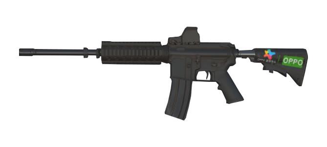 スマホアプリ knives out M4A1 oppo専用ペイント