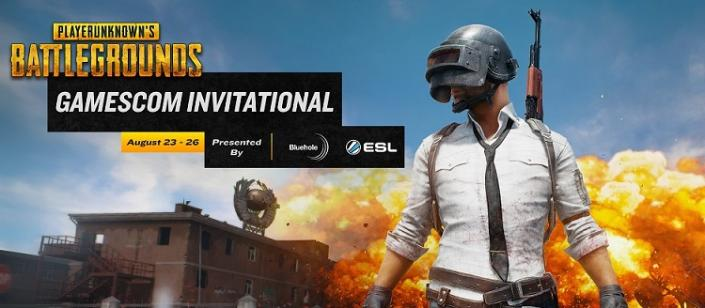 PUBG 大会 8月23日~26日 GAMESCOM PUBG INVITATIONAL