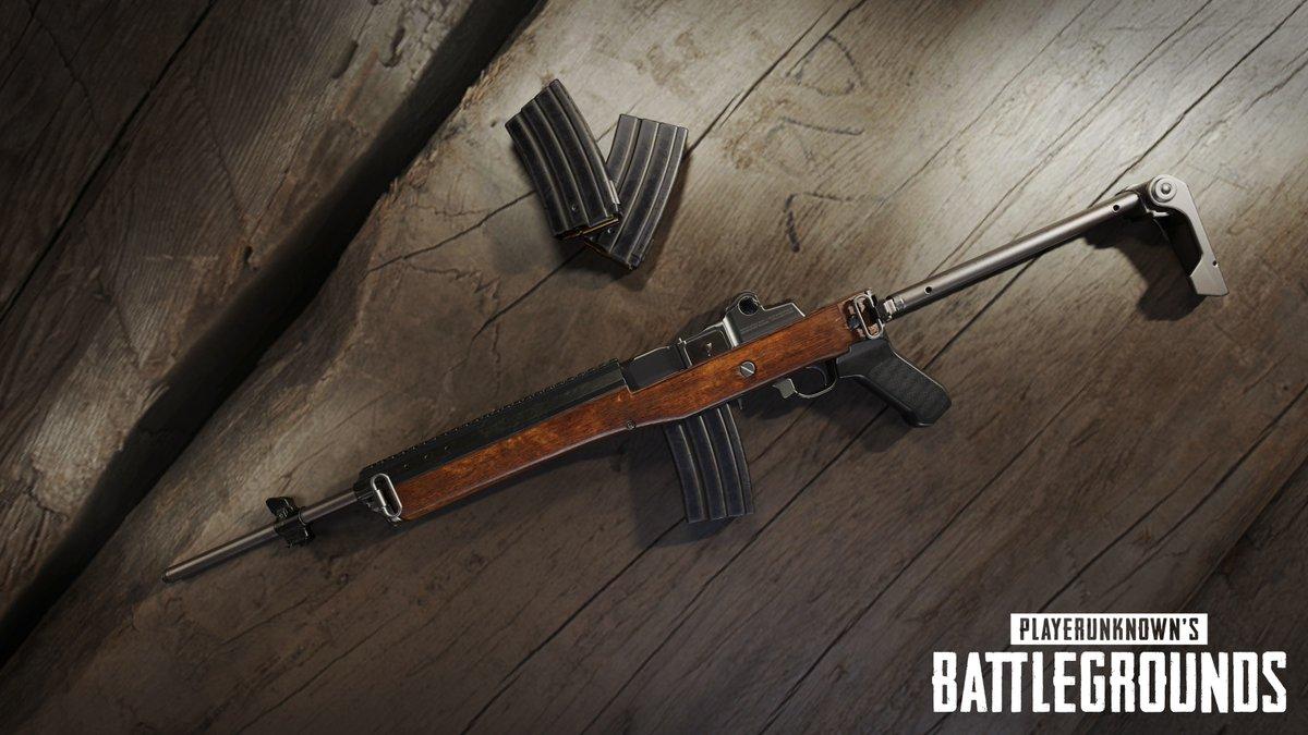 PUBG 新武器 Mini-14 が追加、威力は?使える武器か評価