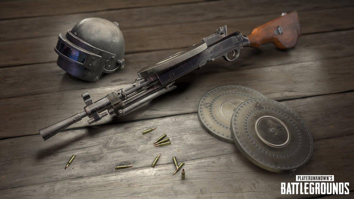 PUBG アップデート DP-28が追加、威力は?使える武器か評価