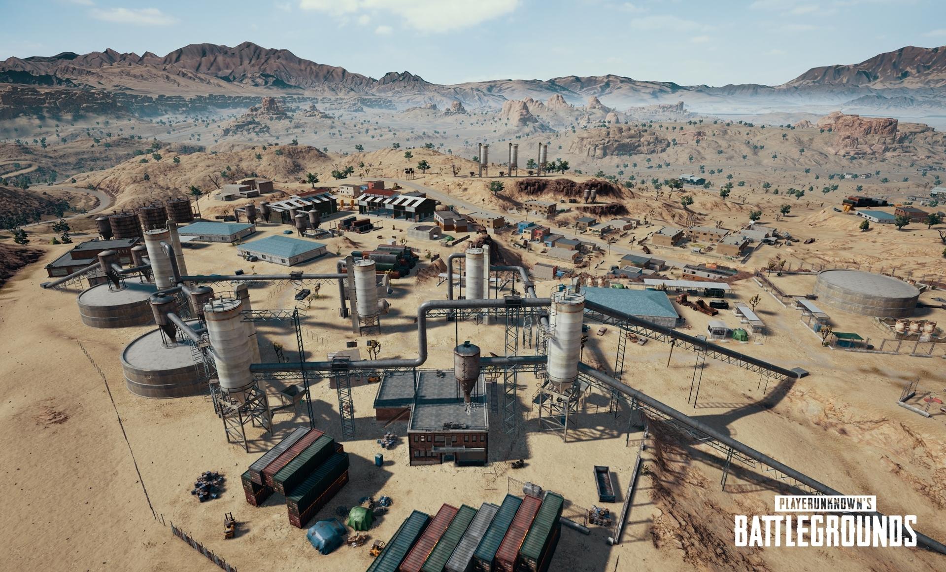 PUBG 砂漠新マップ「ミラマー」公開!名称や詳細はが明らかに!