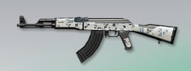 荒野行動 武器スキン AK-47 冬の訪れ