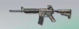 荒野行動 武器スキン M4A1 砂漠の嵐
