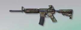 荒野行動 武器スキン M4A1 雨林の試練