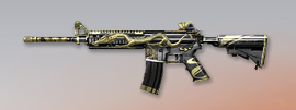 荒野行動 武器スキン M4A1 天空の龍