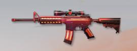 荒野行動 武器スキン M4A1 福イヌ