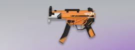 荒野行動 武器スキン MP5 世紀戦士