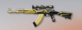 荒野行動 武器スキン AK-47 天龍飛翔