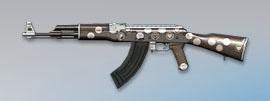 荒野行動 武器スキン AK-47 ロマンチックチョコ