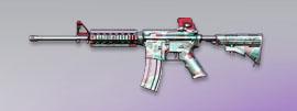 荒野行動 武器スキン M4A1 キャンディーハニー