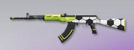 荒野行動 武器スキン 81式小銃 サッカーFes