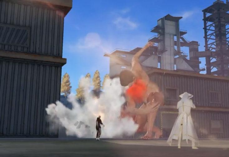 荒野行動 進撃の巨人コラボの一部が公開!巨人がでかくて強い!詳細の紹介