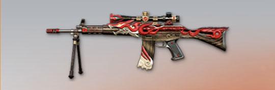 荒野行動 武器スキン 89式 オオカミ