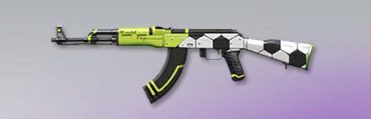 荒野行動 武器スキン AK-47 サッカーFes