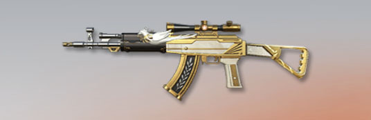 荒野行動 武器スキン AK-47 平和のハト