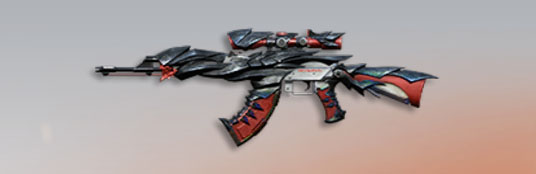 荒野行動 武器スキン AK-47 デスサイズ
