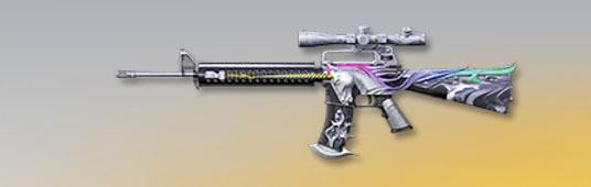 荒野行動 武器スキン M16A4 幻のユニコーン 先鋒版