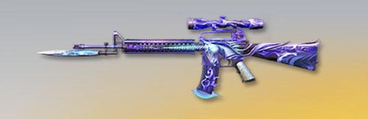荒野行動 武器スキン M16A4 ユニコーン進化版