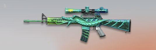 荒野行動 武器スキン M16A4 ファム・ファタール