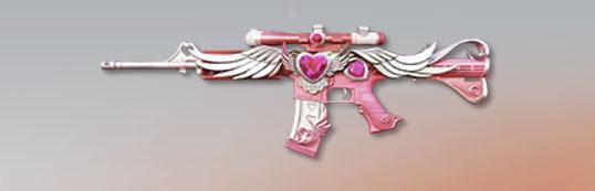 荒野行動 武器スキン M4A1 天使のキス