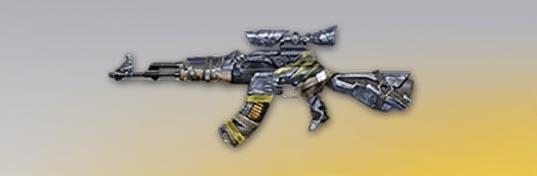 荒野行動 武器スキン AK-47 ジャングル・潜伏 先鋒版