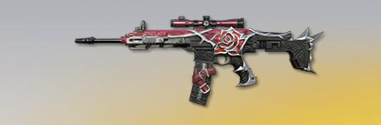 荒野行動 武器スキン S-ACR マダムローズ 先鋒版