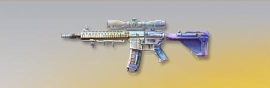 荒野行動 武器スキン M27 グレーズビューティー 先鋒版