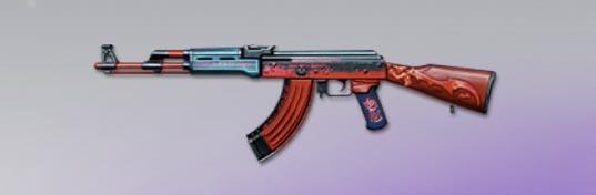 荒野行動 武器スキン AK-47 デビルズ・スティグマ