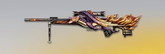 荒野行動 武器スキン CS LR4 ドラゴンフォース 先鋒版