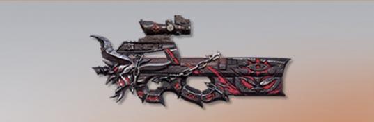 荒野行動 武器スキン P90 デビルの記号