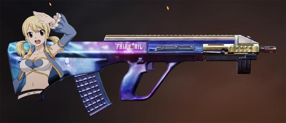 荒野行動 フェアリーテイルコラボ 銃器スキン