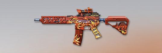 荒野行動 武器スキン M27 紅葉