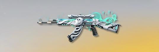 荒野行動 武器スキン AK-47 幽霊の山荘 先鋒版
