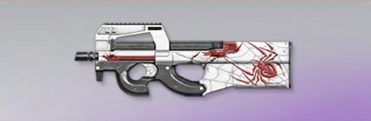 荒野行動 武器スキン P90 蜘蛛の血糸