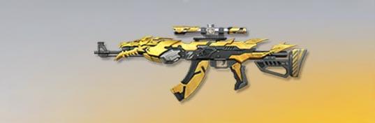 荒野行動 武器スキン AK-47 龍麟装甲 先鋒版