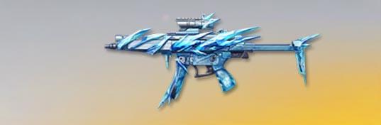 荒野行動 武器スキン MP5 氷河の嵐 先鋒版