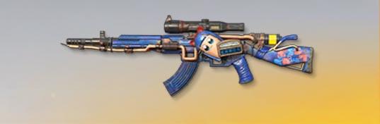 荒野行動 武器スキン 81式小銃 ピピ美 Lv1