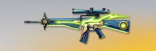 荒野行動 武器スキン M16A4 霊槍シャスティフォル 先鋒版
