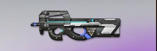 荒野行動 武器スキン P90 リバースコア
