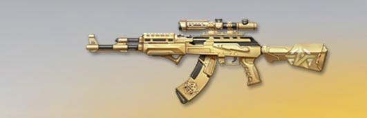 荒野行動 武器スキン AK-47 金暁王者 先鋒版