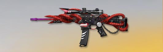 荒野行動 武器スキン S-ACR 金木の鱗赫 Lv1