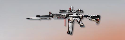 荒野行動 武器スキン M4A1 聖銃女王