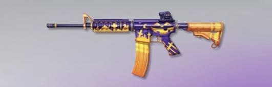 荒野行動 武器スキン M4A1 パンプキンパーティー