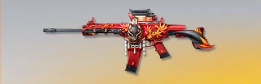 荒野行動 武器スキン S-ACR 晩秋の紅葉 先鋒版