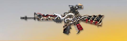 荒野行動 武器スキン M16A4 雲 先鋒版