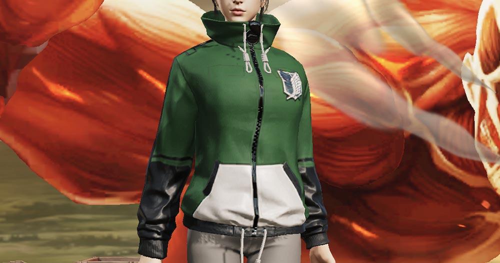 荒野行動 進撃の巨人第四弾コラボ衣装スキン