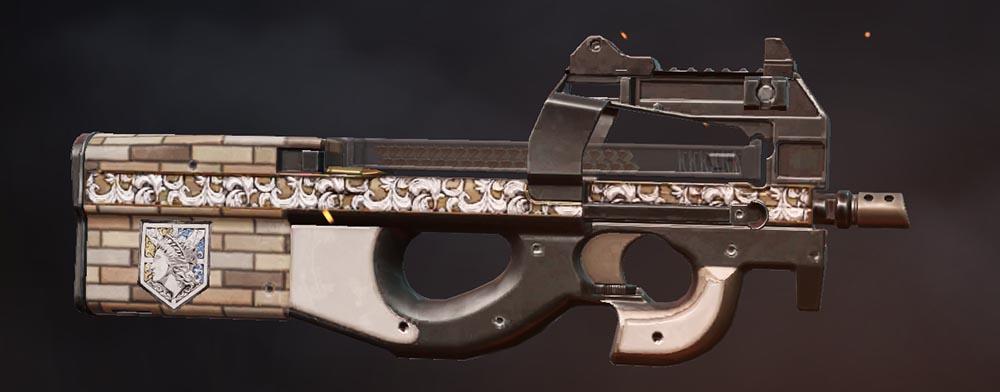 荒野行動 進撃の巨人第四弾コラボ・銃器スキン